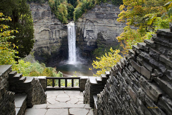 Photograph - Taughannock Falls Overlook by Christina Rollo
