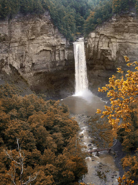 Photograph - Taughannock Falls Park by Jessica Jenney