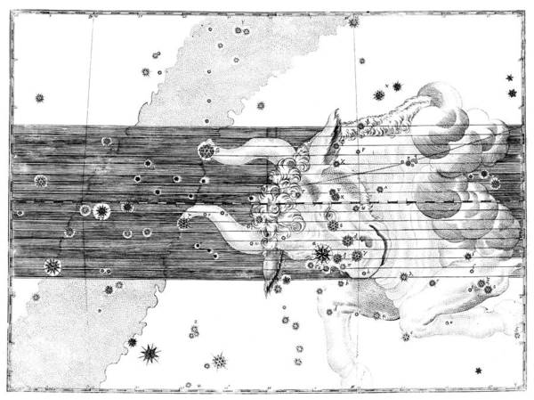 Wall Art - Photograph - Taurus Constellation, Zodiac, 1661 by U.S. Naval Observatory Library