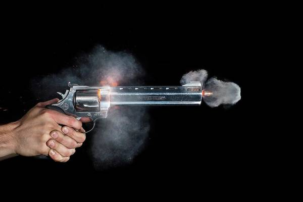 Firepower Photograph - Taurus Handgun Shot by Herra Kuulapaa � Precires