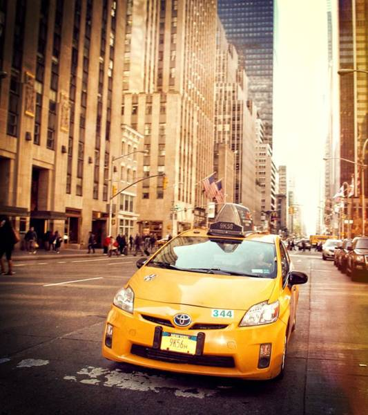 Photograph - Taxi by Dan Sproul