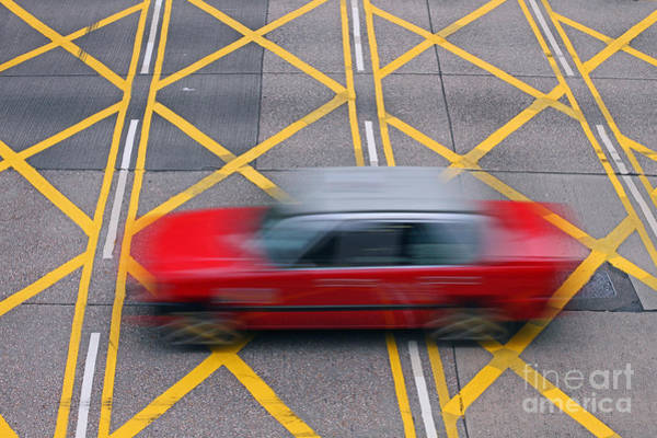 Wall Art - Photograph - Taxi by Lars Ruecker