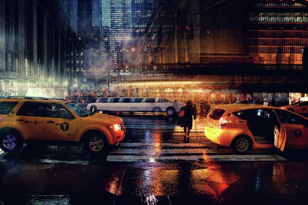 Wall Art - Photograph - Taxi by Massimo Della Latta