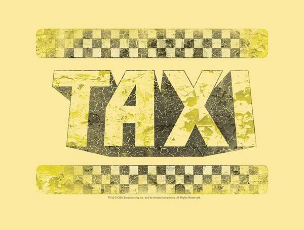 Tv Wall Art - Digital Art - Taxi - Run Down Taxi by Brand A