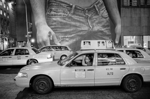 Taxis On Fifth Avenue Art Print