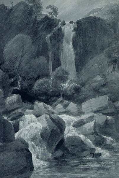 Lake District Painting - Taylor Ghyll by John Constable