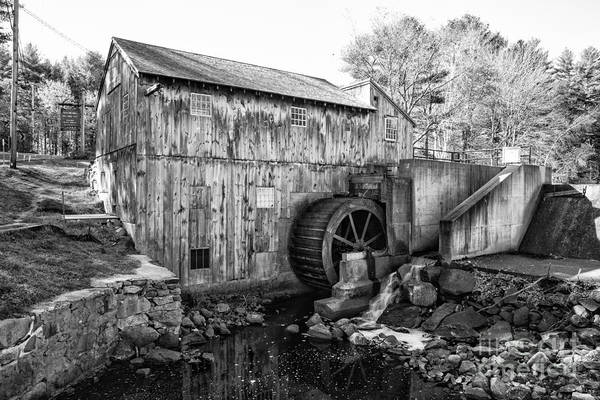 Photograph - Taylor Sawmill - Derry New Hampshire Usa by Erin Paul Donovan