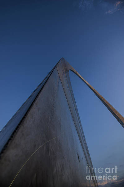 Photograph - The St. Louis Gateway Arch 16 by David Haskett II