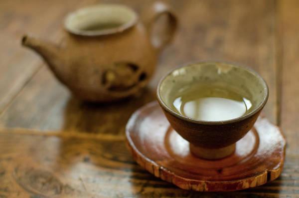 Teapot Photograph - Tea + Cup + Dish by Mimyofoto - Serge Lebrun