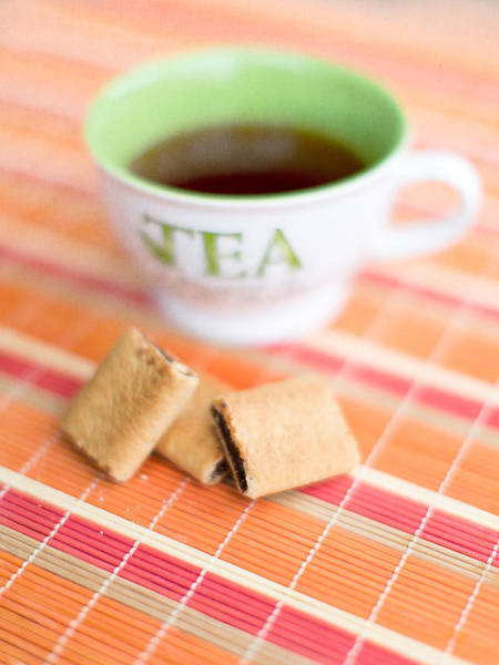 Wall Art - Photograph - Tea And Cookies by Rebecca Cozart