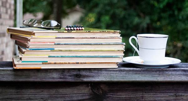 Wall Art - Photograph - Tea And Reading by Mechala Matthews