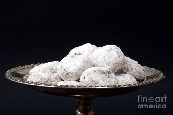 Photograph - Tea Cakes On A Tray by Gunter Nezhoda