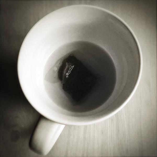 Tea Photograph - Tea Cup by Les Cunliffe
