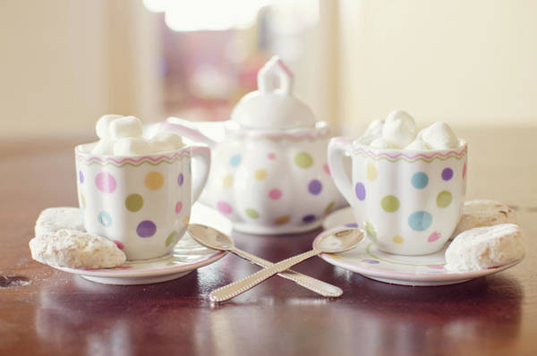 Tea Photograph - Tea Party For Two by By Melisa Anger
