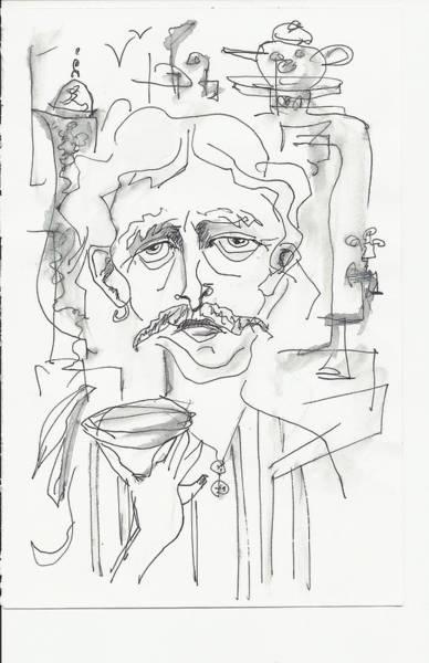 Drawing - Tea Time 2 by Maxim Komissarchik