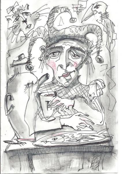 Drawing - Tea Time 3 by Maxim Komissarchik