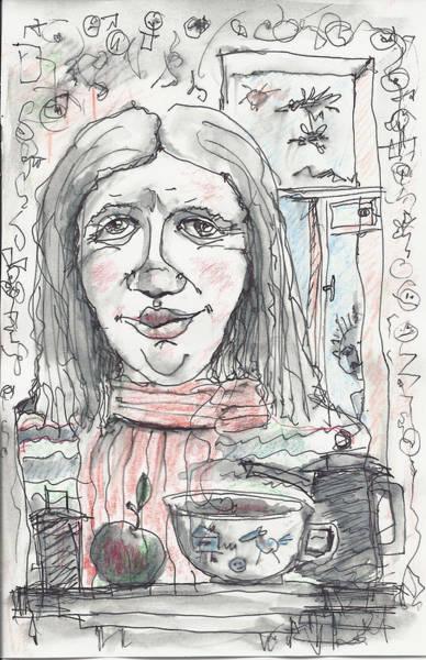 Painting - Tea Time 6 by Maxim Komissarchik