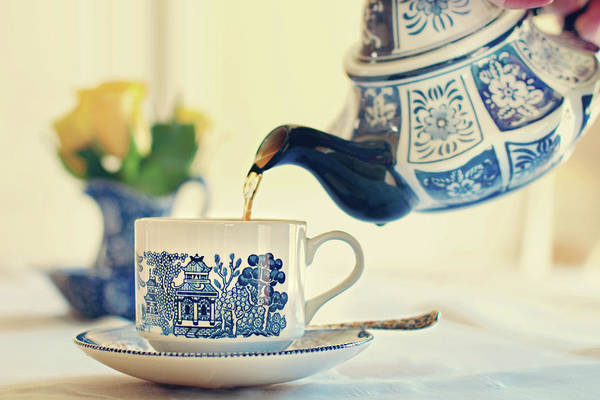 Tea Photograph - Tea Time by Barbara Taeger Photography