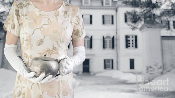 Tea Pot Wall Art - Photograph - Tea Time by Edward Fielding
