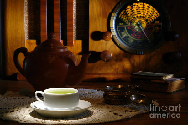 Photograph - Tea Time by Olivier Le Queinec