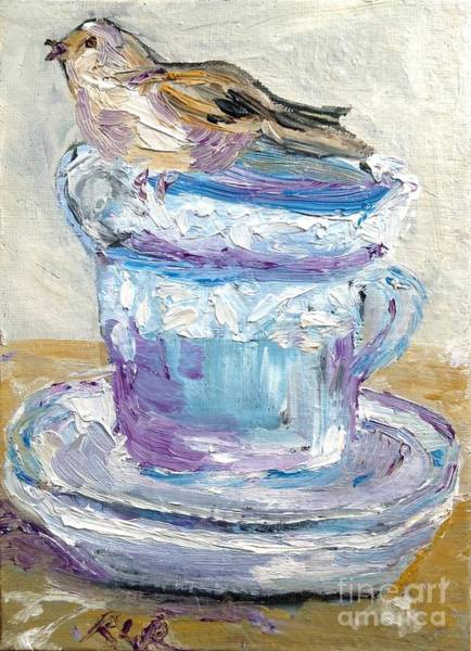 Painting - Tea Time  by Reina Resto