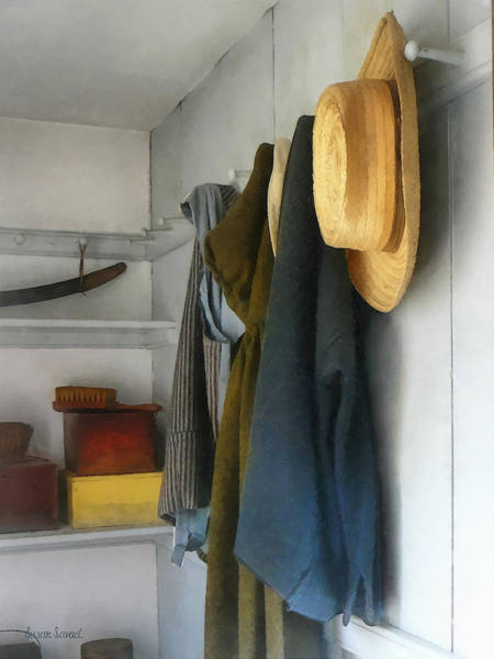 Photograph - Teacher - Cloakroom by Susan Savad