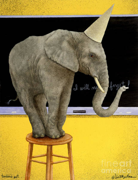 Classroom Painting - Teachers Pet... by Will Bullas