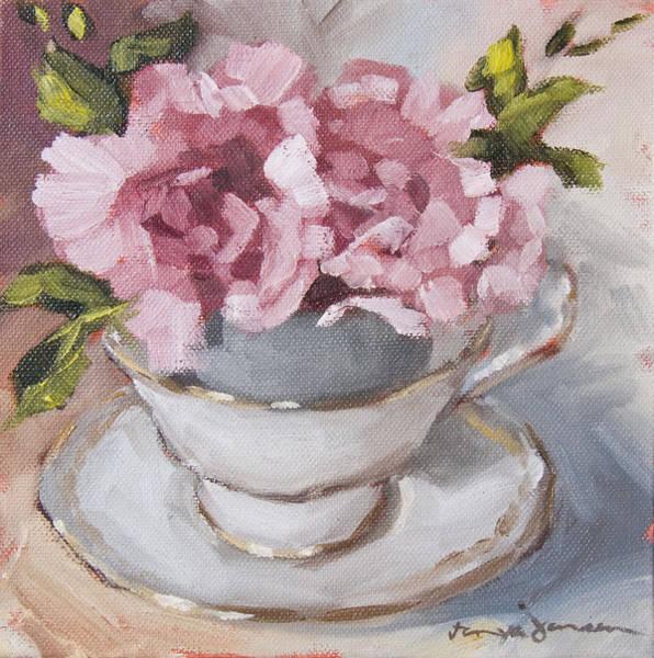 Teacup Painting - Teacup 2 by Tanya Jansen