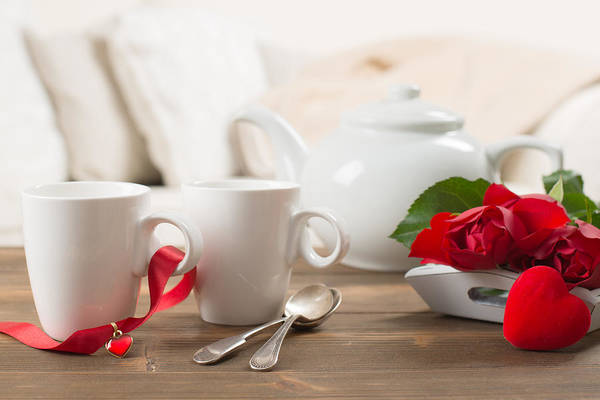 Wall Art - Photograph - Teacups And Roses by Amanda Elwell