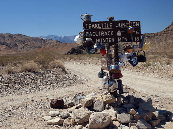 Desolation Photograph - Teakettle Junction by Joe Schofield