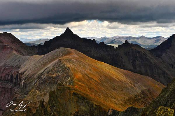 Wall Art - Photograph - Teakettle Mountain by Aaron Spong