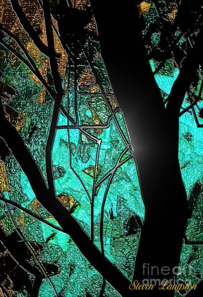 Wall Art - Painting - Teal And More by Steven Lebron Langston