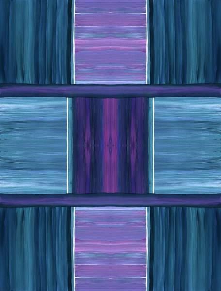 Painting - Teal Square Dreams by Barbara St Jean