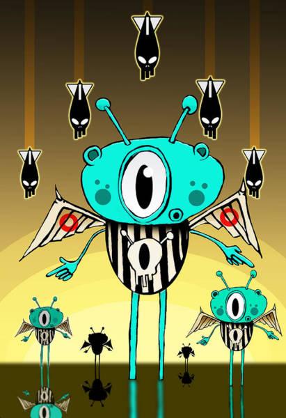 Antenna Painting - Team Alien by Johan Lilja