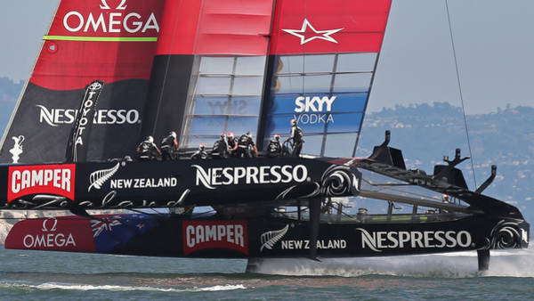 Photograph - Team New Zealand 2013 by Steven Lapkin