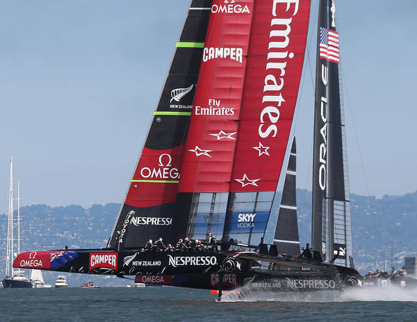 Photograph - Team New Zealand America's Cup by Steven Lapkin