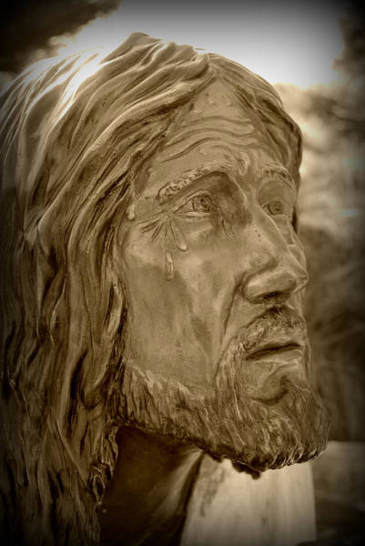 Photograph - Tears Of Jesus by Lora Mercado