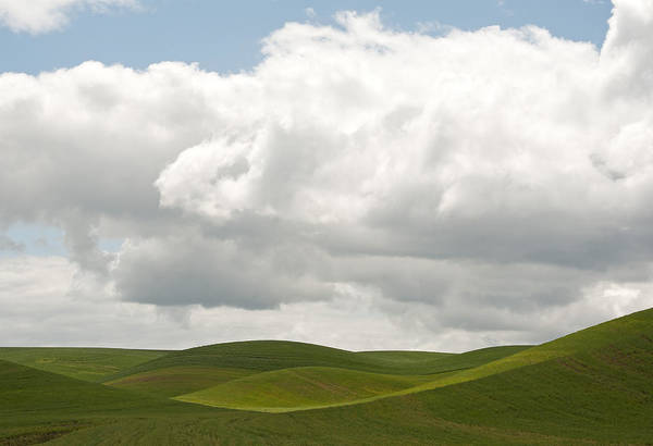 Wall Art - Photograph - Teasing Clouds by Latah Trail Foundation
