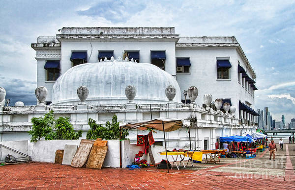Photograph - Teatro Anita Villalaz Antigio Palacio De Justicia - Panama By Diana Sainz by Diana Raquel Sainz