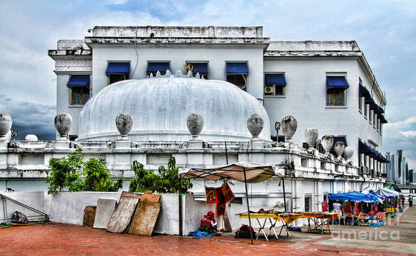 Photograph - Teatro Anita Villalaz Antigio Palacio De Justicia By Diana Sainz by Diana Raquel Sainz