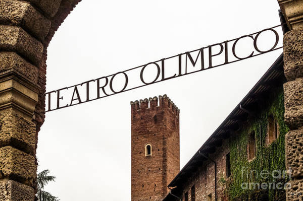 Photograph - Teatro Olimpico by Prints of Italy