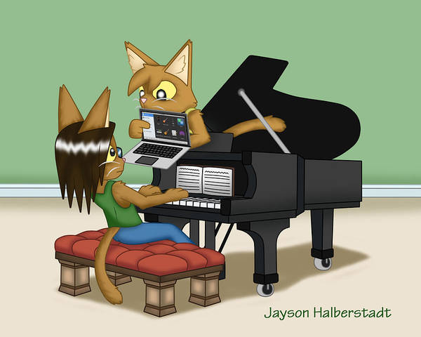 Digital Art - Musical Differences by Jayson Halberstadt