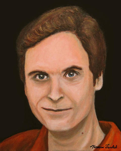 Ted Bundy Painting - Ted Bundy by Norman Twisted