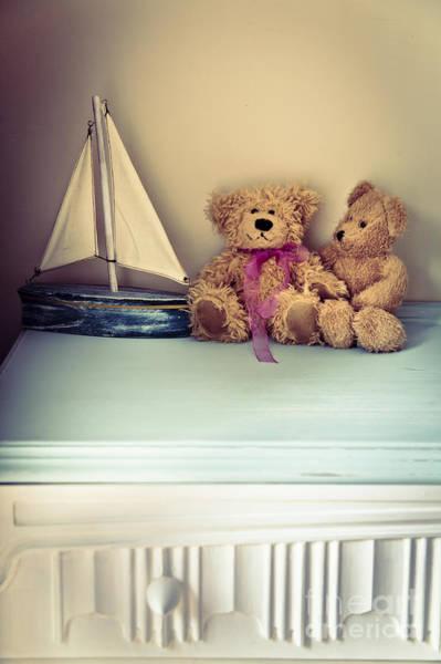 Drawers Photograph - Teddy Bears by Jan Bickerton