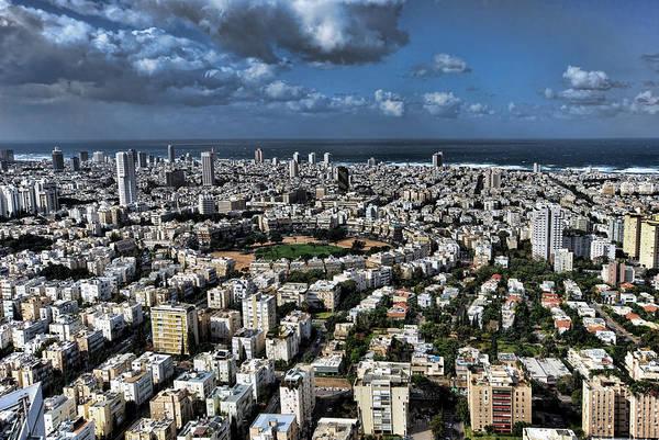 Tel Aviv Center Art Print