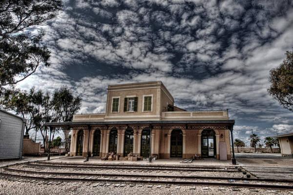 Wall Art - Photograph - Tel Aviv First Railway Station by Ron Shoshani