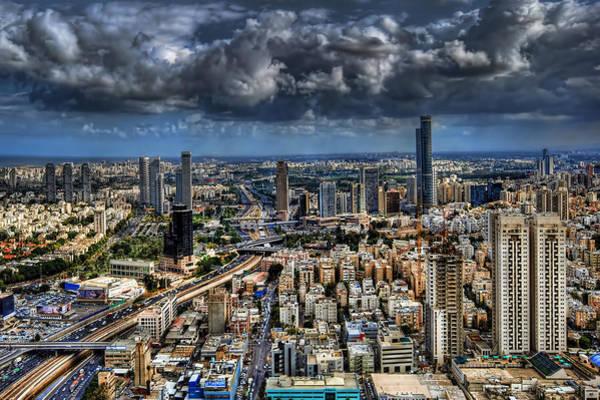 Wall Art - Photograph - Tel Aviv Love by Ron Shoshani