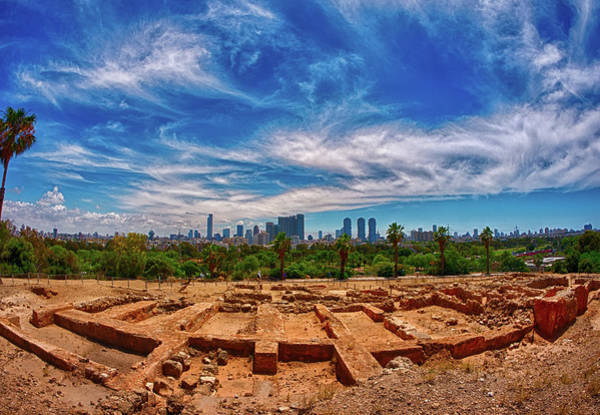 High Dynamic Range Imaging Photograph - Tel-aviv - Old And New Hdr by Taken By Ehud Lavon