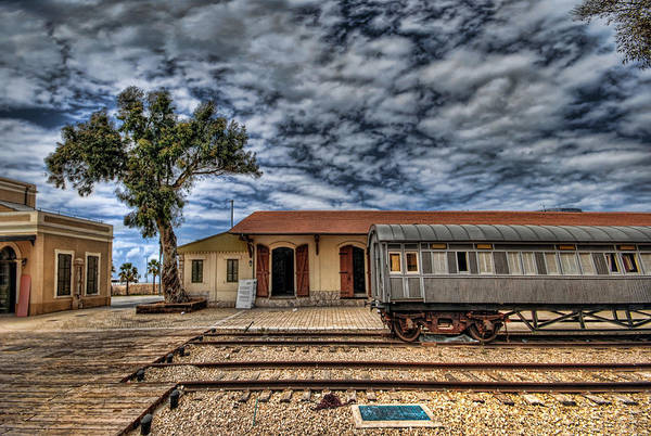 Photograph - Tel Aviv Old Railway Station by Ron Shoshani