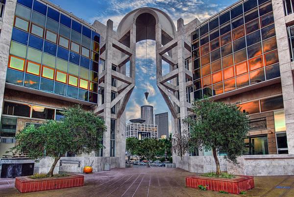 Wall Art - Photograph - Tel Aviv Performing Arts Center by Ronsho